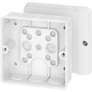 Коробка распределительная ОП 98х98х52мм IP55 DE9341 бел. HENSEL 6000322 купить в интернет-магазине RS24