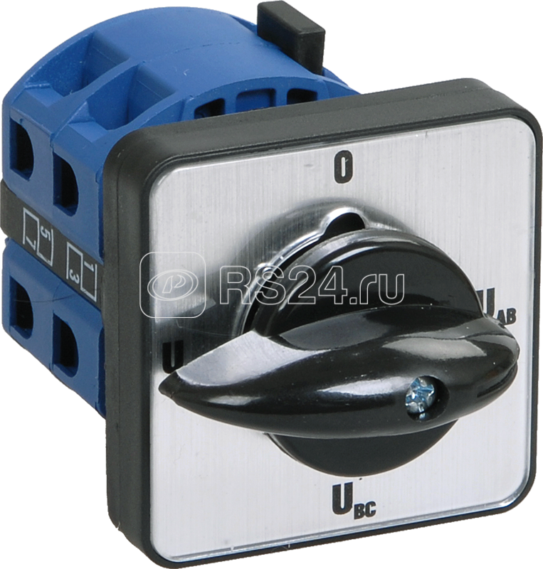 Переключатель кулачковый ПКП10-22/О 10А на 2 полож. 1-2 400В ИЭК BCS12-010-3 купить в интернет-магазине RS24