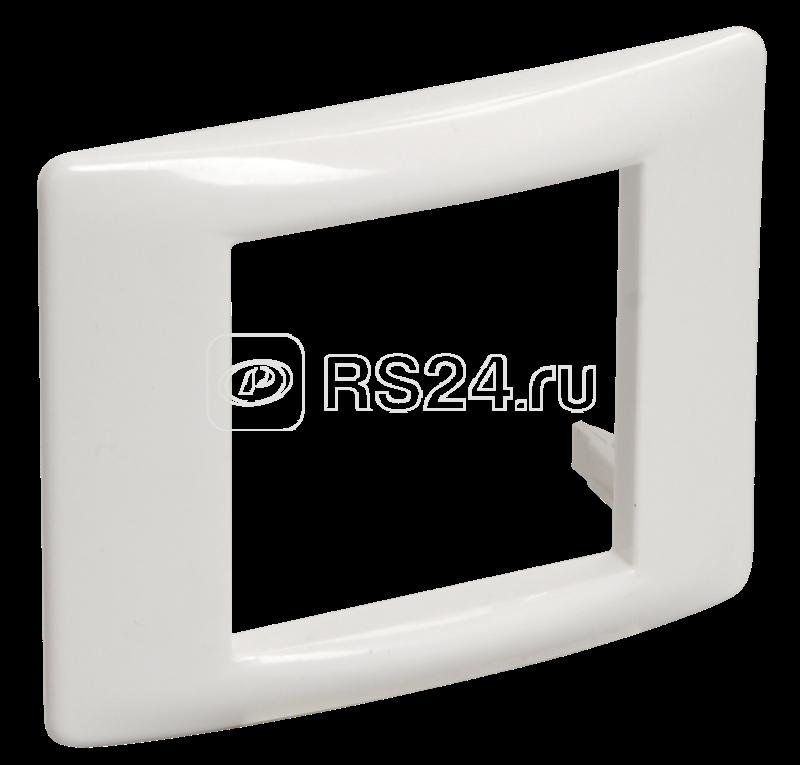 Рамка установочная под 45х45 2мод. для кабель-канала Праймер ИЭК CKK-40D-RU2-K01