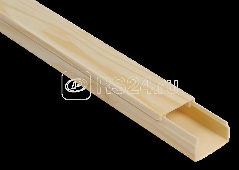 Кабель-канал 25х16 L2000 пластик ЭЛЕКОР сосна ИЭК CKK10-025-016-1-K34
