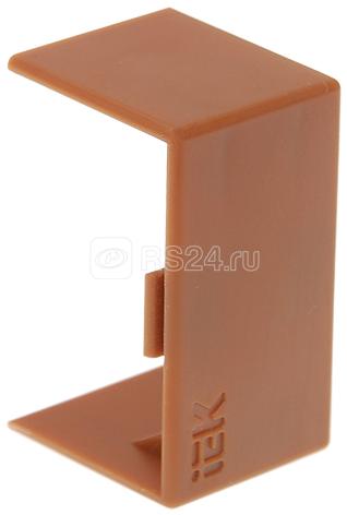Соединитель на стык КМС 25х16 дуб ИЭК CKK10D-S-025-016-K11
