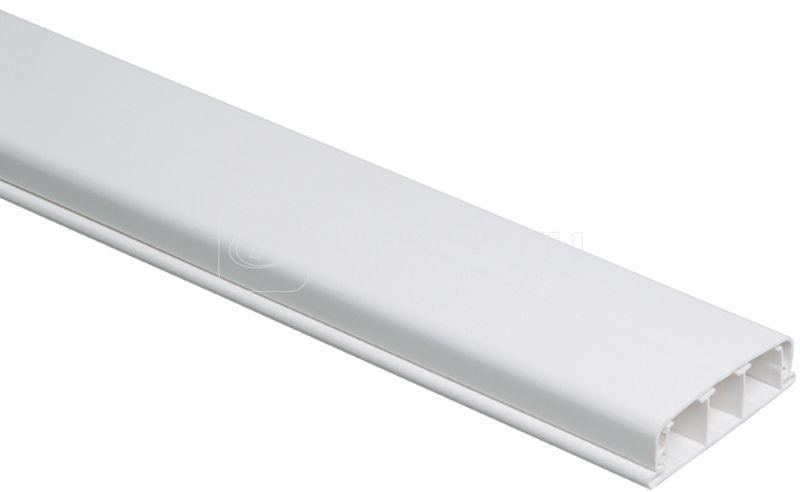 Кабель-канал плинтусный 80х20 L2000 пластик ЭЛЕКОР IEK CKK20-080-020-1-K01 купить в интернет-магазине RS24