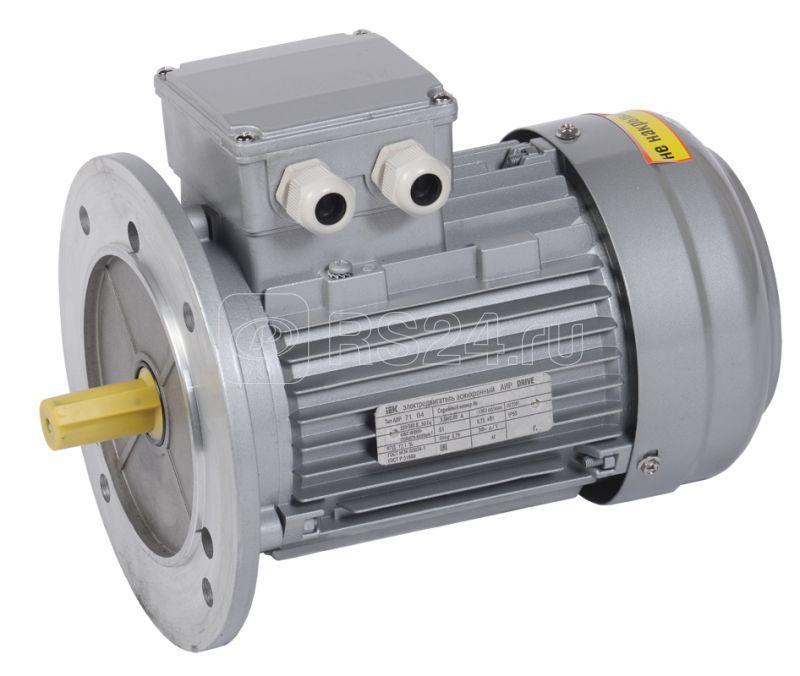 Электродвигатель АИР DRIVE 3ф 71A4 380В 0.55кВт 1500об/мин 3081 IEK DRV071-A4-000-5-1530 купить в интернет-магазине RS24