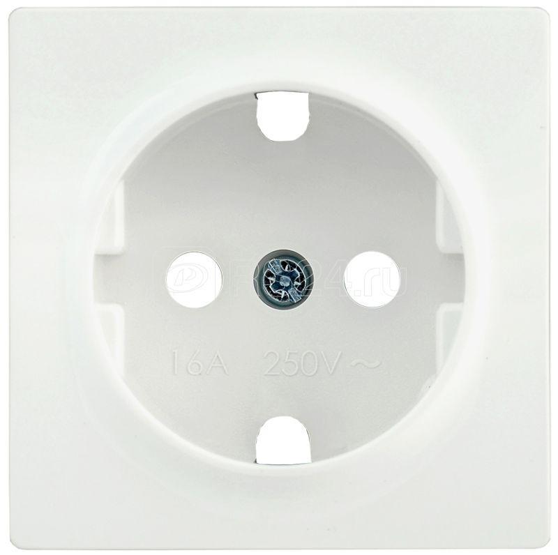 Накладка розетка BOLERO НР-1-1-ББ с заземл. бел. IEK ENB11-R-K01 купить в интернет-магазине RS24
