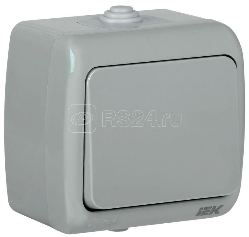 Выключатель 1-кл. 1п ОП Aquatic 10А IP54 ВС-20-1-0-А сер. IEK EVA10-K03-10-54 купить в интернет-магазине RS24