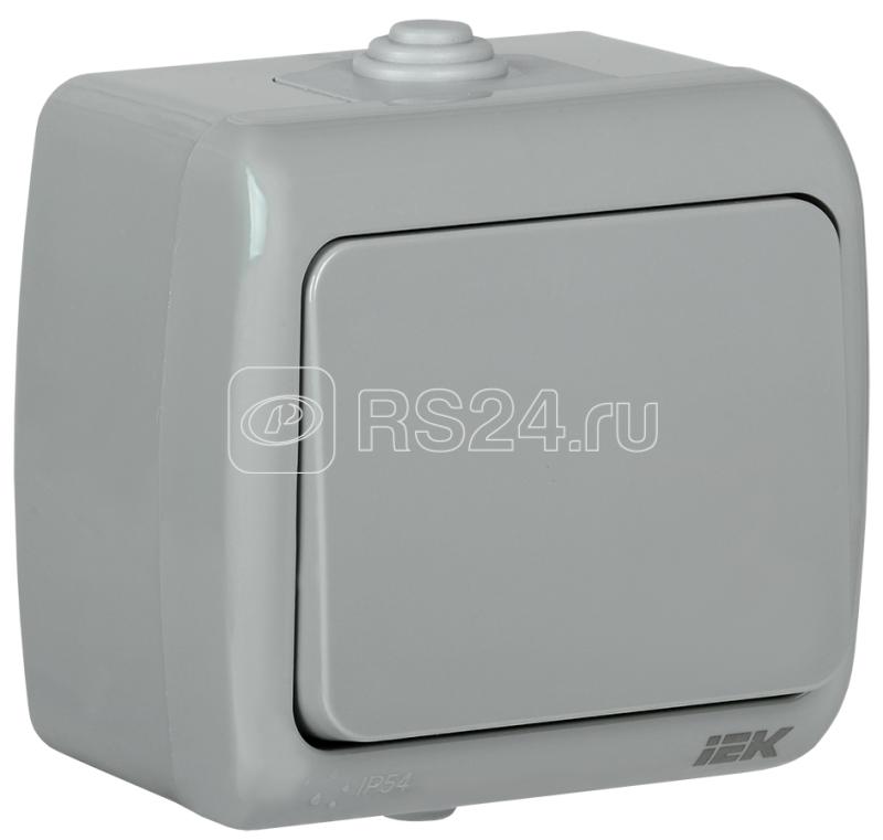 Выключатель 1-кл. ОП AQUATIC 10А IP54 ВС-20-1-0-А ИЭК EVA10-K03-10-54 купить в интернет-магазине RS24