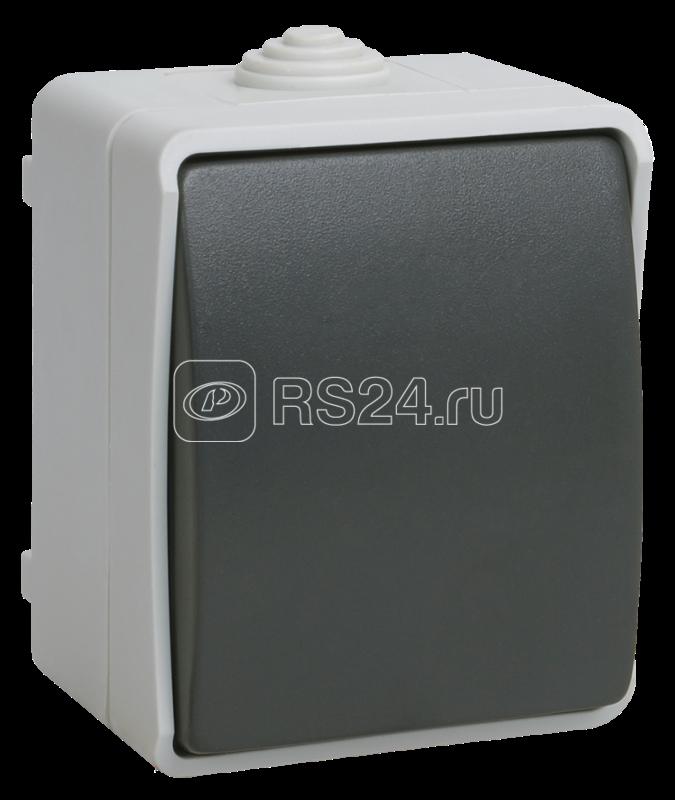 Выключатель 1-кл. ОП ФОРС 10А 250В IP54 ВС20-1-0-ФСр ИЭК EVS10-K03-10-54-DC