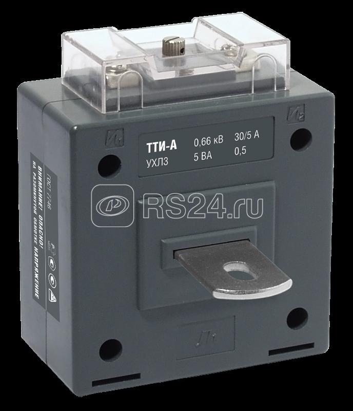 Трансформатор тока ТТИ-А 30/5А кл. точн. 0.5 5В.А ИЭК ITT10-2-05-0030 купить в интернет-магазине RS24
