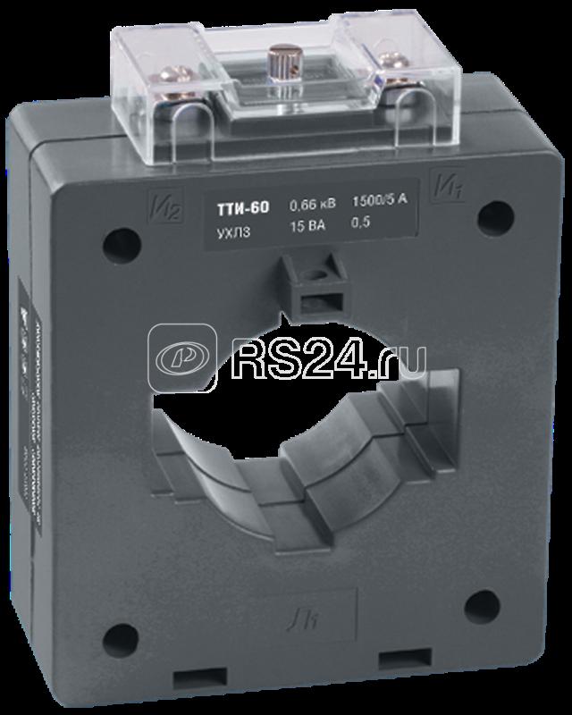 Трансформатор тока ТТИ-60 1000/5А кл. точн. 0.5 10В.А ИЭК ITT40-2-10-1000