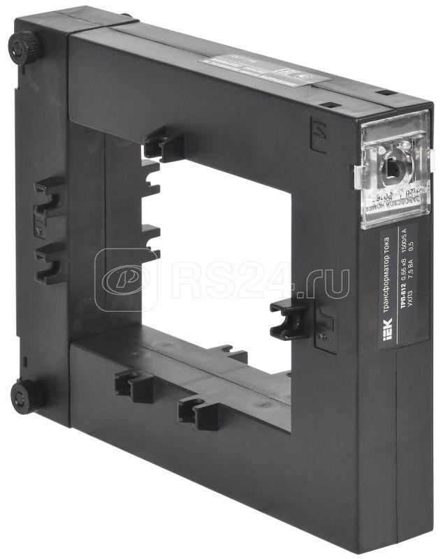 Трансформатор тока ТРП-812 1500/5А кл. точн. 0.5 7.5В.А IEK ITT812-2-D075-1500 купить в интернет-магазине RS24