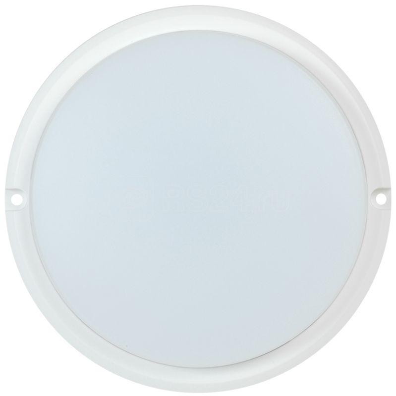 Светильник светодиодный ДПО 4002 12Вт 4000К IP54 круг бел. IEK LDPO0-4002-12-4000-K01 купить в интернет-магазине RS24