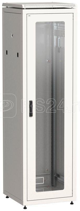 Шкаф сетевой 19дюйм LINEA N 47U 600х800мм стекл. передн. дверь сер. ITK LN35-47U68-G купить в интернет-магазине RS24