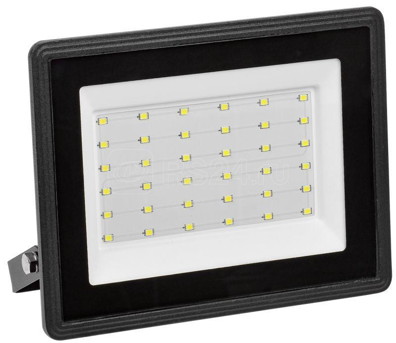 Прожектор светодиодный СДО 06-50 6500К IP65 черн. IEK LPDO601-50-65-K02