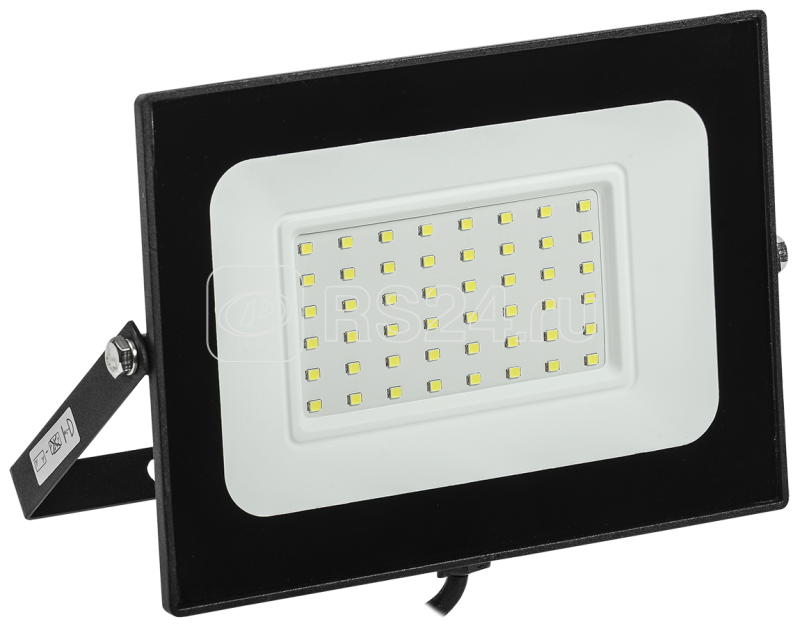 Прожектор светодиодный СДО 06-50 6500К IP65 черн. ИЭК LPDO601-50-65-K02 купить в интернет-магазине RS24