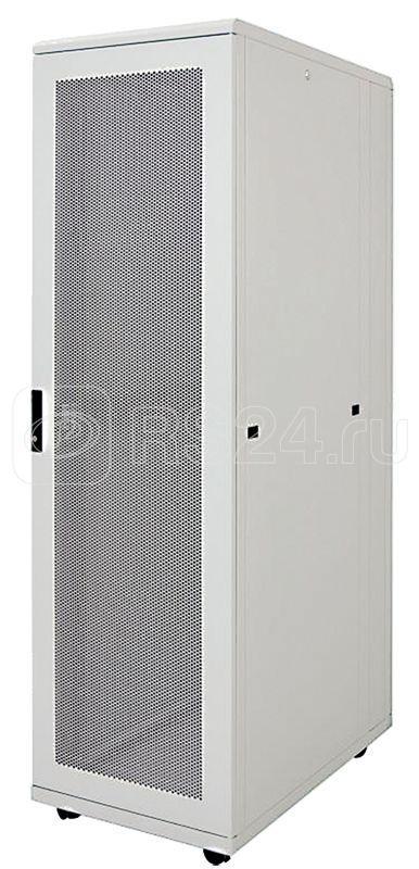 Шкаф серверный 19дюйм 42U 800х1000мм перф. передн. и задн. двери (задняя дверь и часть рамы) сер. ITK LS35-42U81-PP-2 купить в интернет-магазине RS24