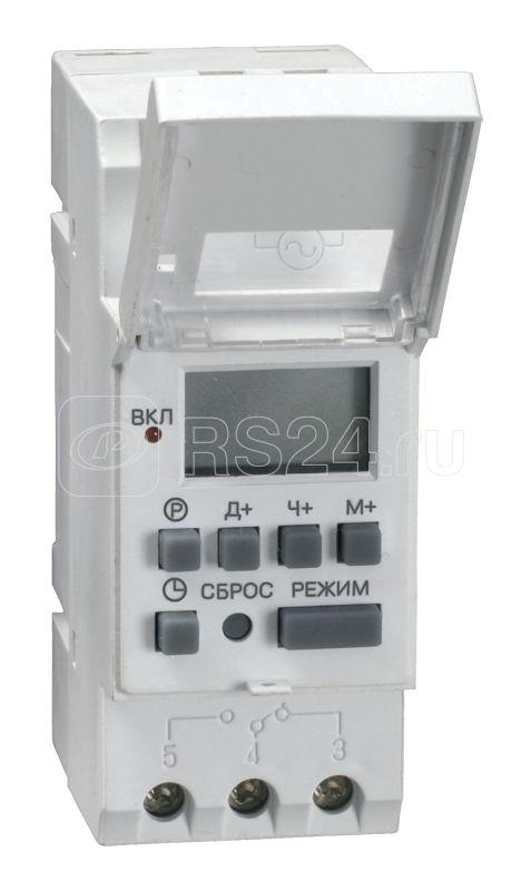 Таймер цифровой ТЭ15 16А 230В на DIN-рейку IEK MTA10-16 купить в интернет-магазине RS24