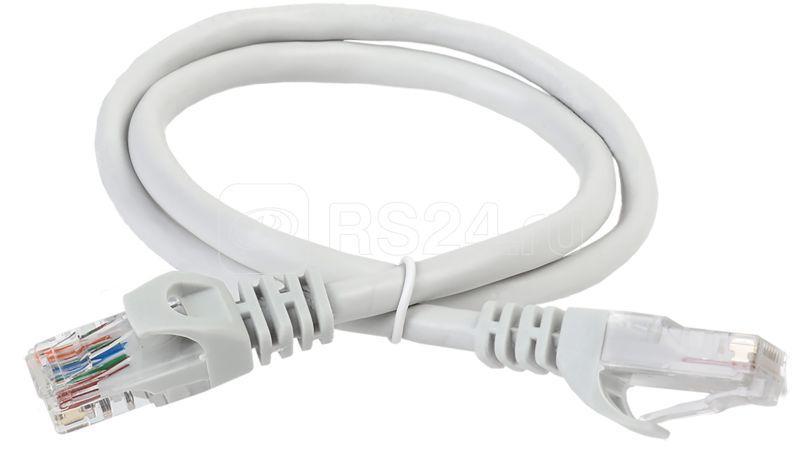 Патч-корд кат.5е UTP LSZH 5м сер. ITK PC01-C5EUL-5M купить в интернет-магазине RS24