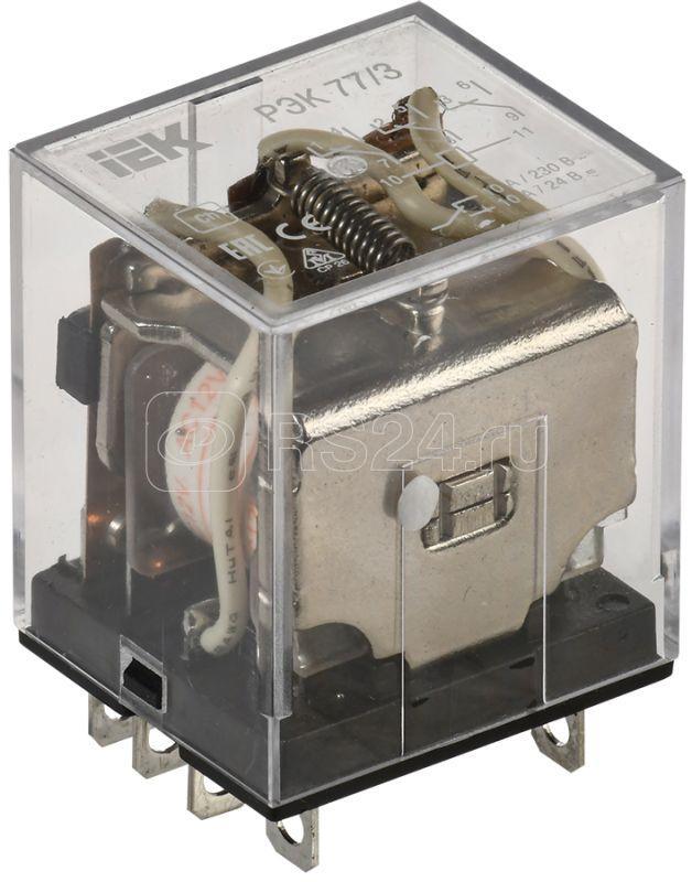 Реле РЭК 77-3 10А 12В AC ИЭК RRP10-3-10-012A купить в интернет-магазине RS24