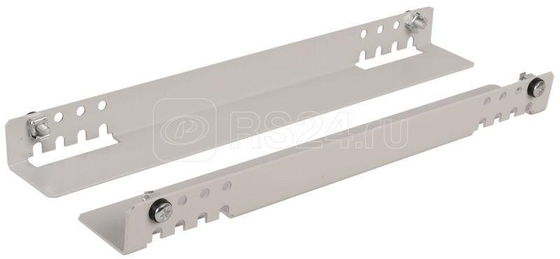 Уголок направляющ. 600мм для шкафов глубиной 800мм сер. (уп.2 шт) ITK SR35-600 купить в интернет-магазине RS24