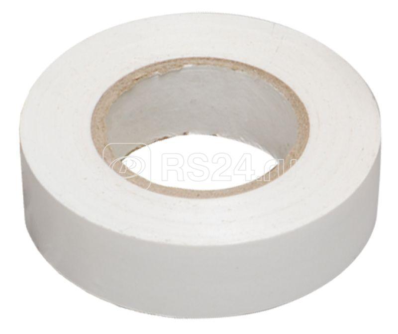 Изолента ПВХ 0.13х15мм (рул.20м) бел. ИЭК UIZ-13-10-K01