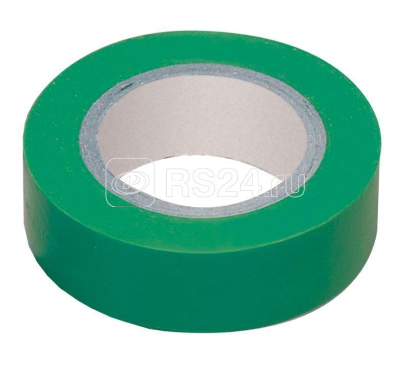 Изолента ПВХ 0.18х19мм зел. (рул.20м) ИЭК UIZ-20-10-K06