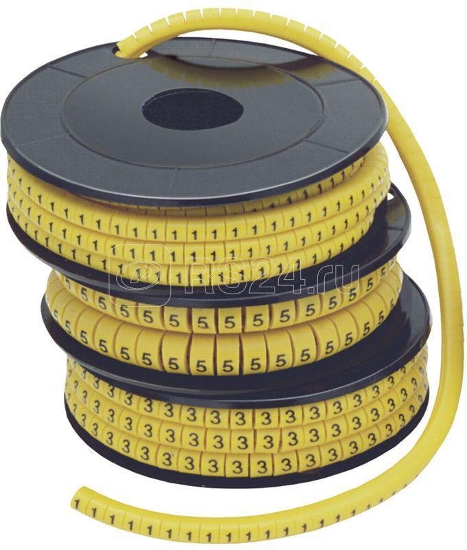 Маркер каб. МК1-2.5мм 1 1000шт/ролл IEK UMK10-1 купить в интернет-магазине RS24