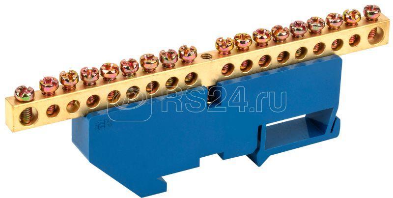 Шина нулевая на DIN-изоляторе ШНИ-6х9-18-Д-С IEK YNN10-69-18D-K07 купить в интернет-магазине RS24
