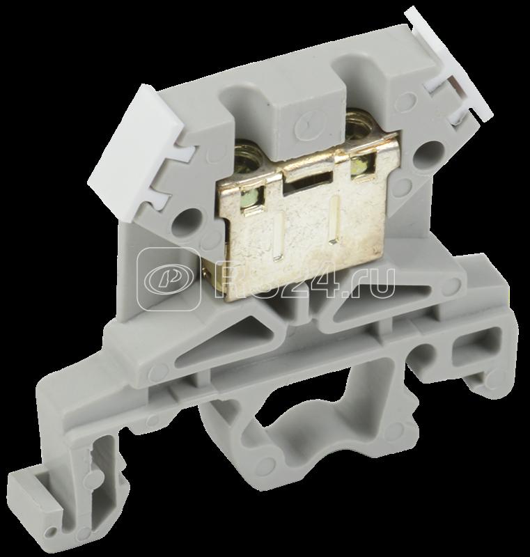 Зажим наборный ЗНИ-4кв.мм (JXB35А) сер. ИЭК YZN10-004-K03