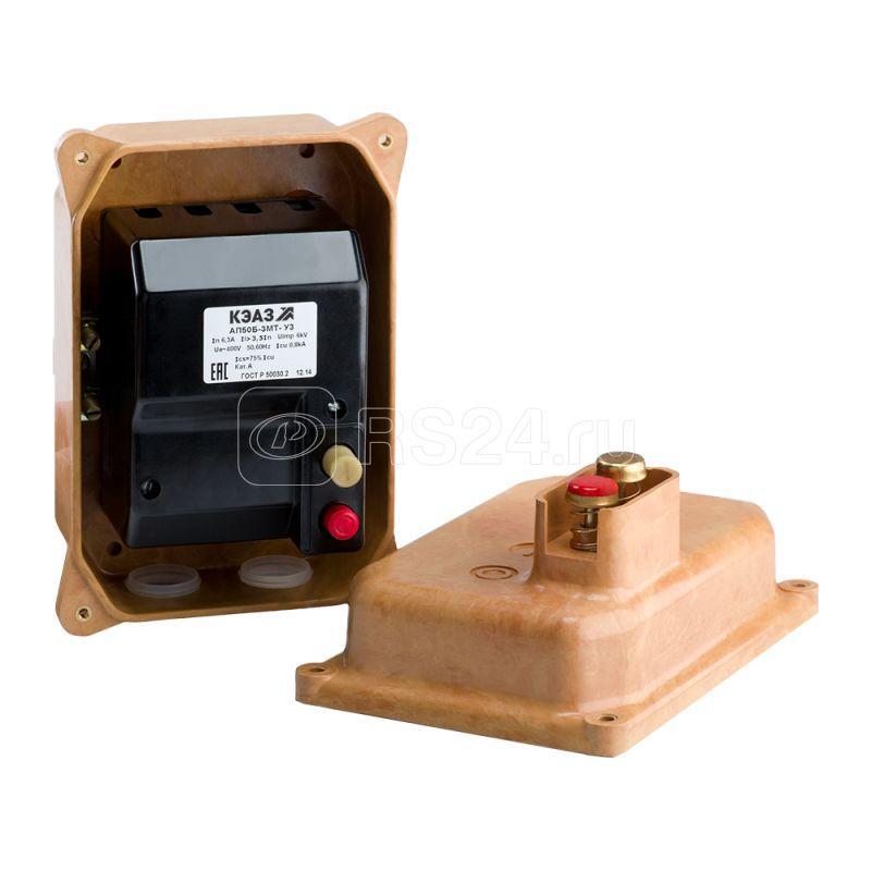 Выключатель автоматический 10А 3.5Iн АП50Б 2МТ У2 400В AC/220В DC доп. контакты 1п IP54 КЭАЗ 107100 купить в интернет-магазине RS24