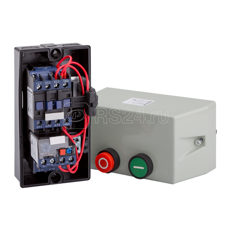 Пускатель магнитный ПМЛ 1220 10А 220AC (0.4-0.63А) УХЛ3 Б КЭАЗ 110679 купить в интернет-магазине RS24