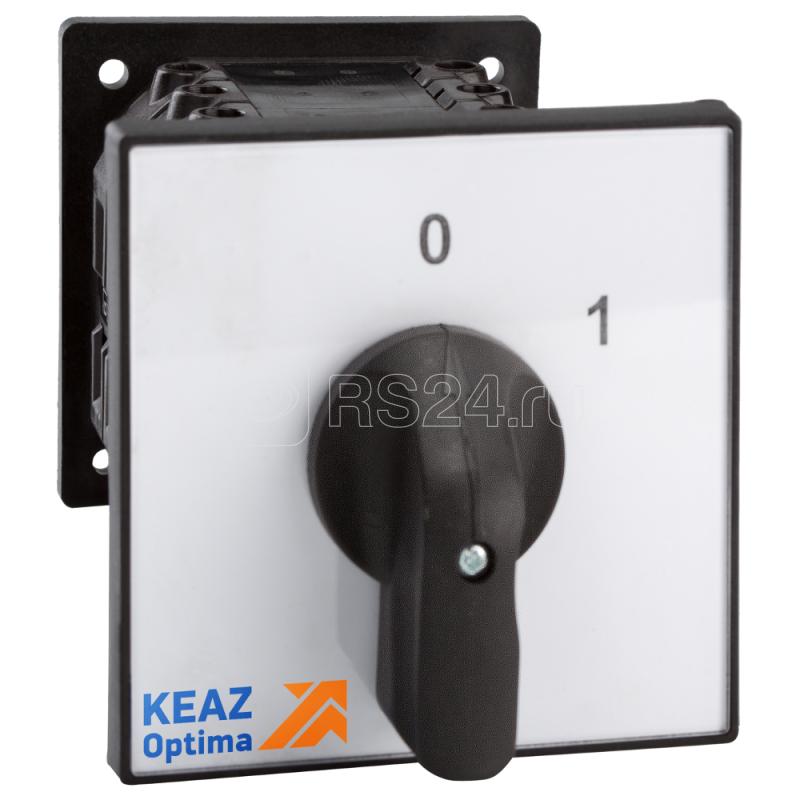 Переключатель кулачковый OptiSwitch 4G40 2108 U R214 КЭАЗ 229847 купить в интернет-магазине RS24