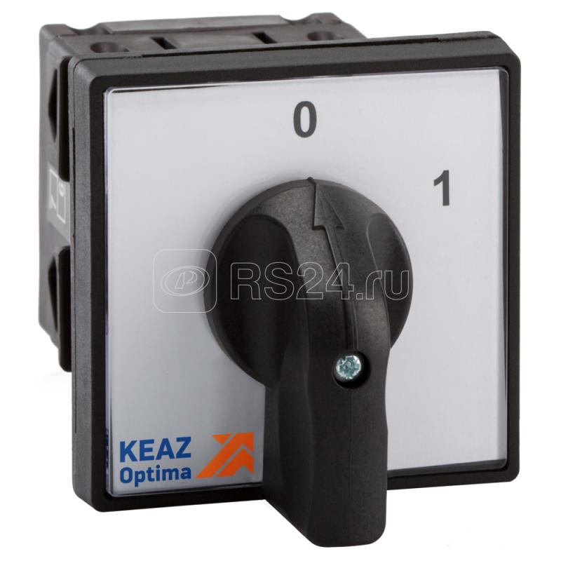 Переключатель кулачковый OptiSwitch 4G25 254 U S1 R114 КЭАЗ 264340 купить в интернет-магазине RS24