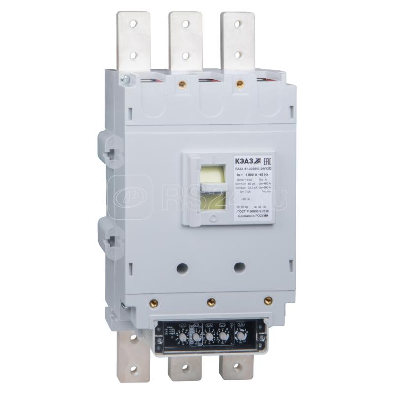 Выключатель автоматический ВА53-41-330016-250А-690AC-УХЛ3 КЭАЗ 273035 купить в интернет-магазине RS24