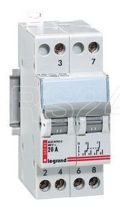 Переключатель 2мод. IP 20А Leg 004383 купить в интернет-магазине RS24