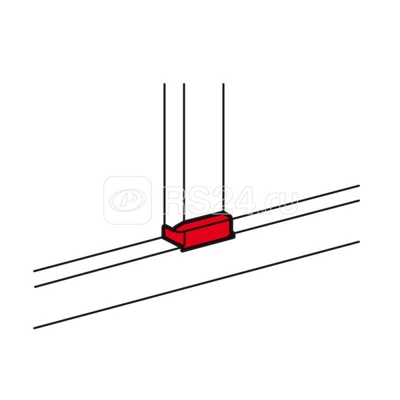 Отвод Т-образный для кабель-канала DLP 105х50 шир. 105мм Leg 010740