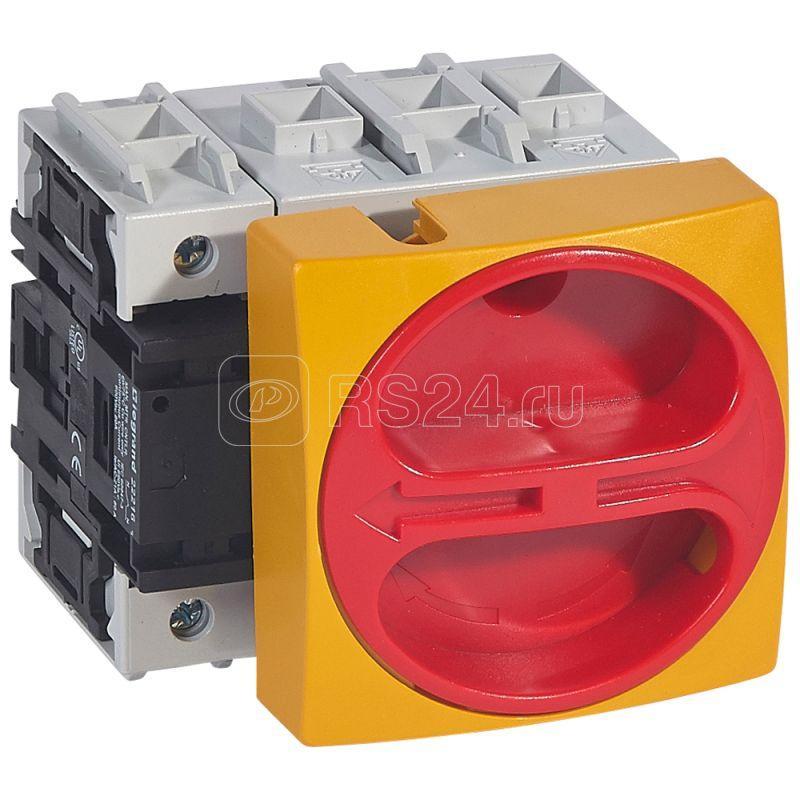 Выключатель-разъединитель 4п нсл 80А выносная рукоятка фронт. уст. Leg 022156 купить в интернет-магазине RS24