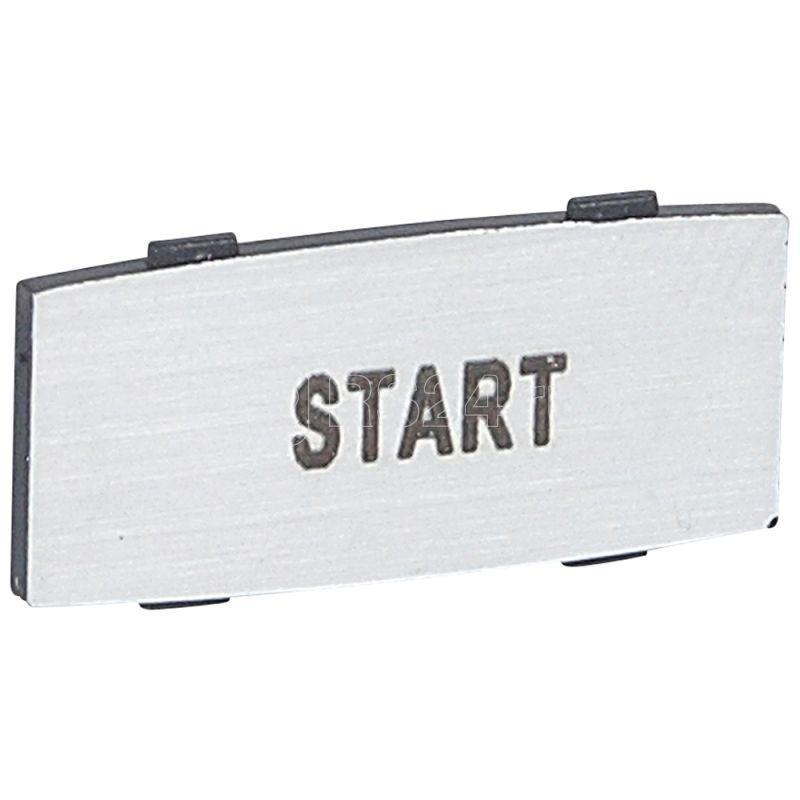 Вставка узкая алюм. надпись START Osmoz Leg 024351 купить в интернет-магазине RS24