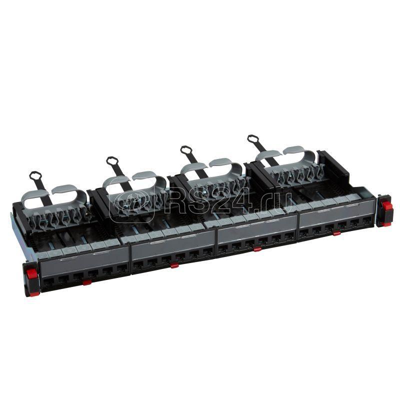 Патч панель укомплектованная 19дюйм 1U категория 5е UTP 24хRJ 45 Leg 033750 купить в интернет-магазине RS24