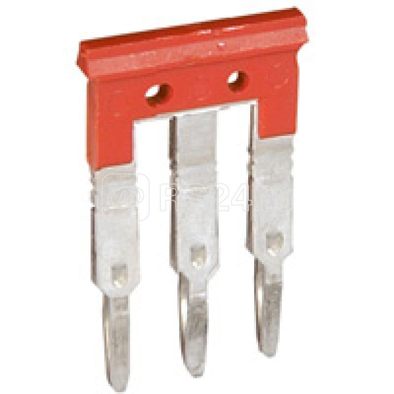 Гребенка соед. шаг 8 для 3 клемм Viking красн. Leg 037507 купить в интернет-магазине RS24