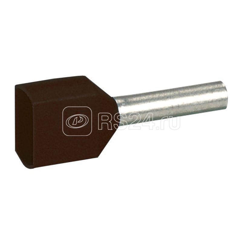Наконечник кабельный изолир. двойн. Starfix 2х1.5кв.мм черн. Leg 037689 купить в интернет-магазине RS24