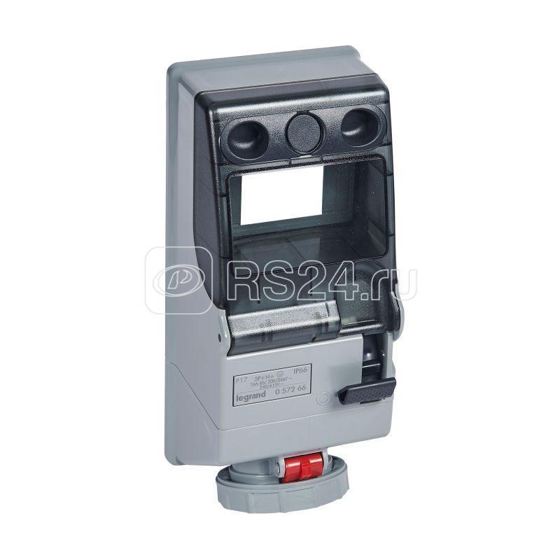 Щиток комб. + рейка IP66 16А 3К+Н+З 400В Leg 057266 купить в интернет-магазине RS24
