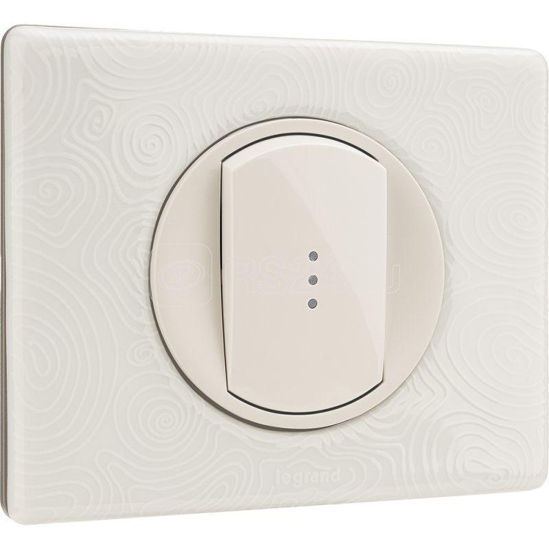 Панель лицевая Celiane для выкл. с инд. бел. Leg 068003 купить в интернет-магазине RS24