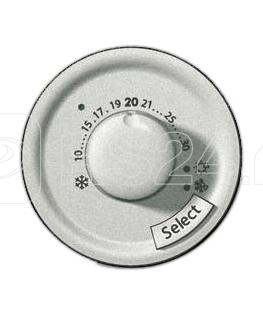 Панель лицевая Celiane для термоста с датчиком для тепл. пола титан Leg 068549