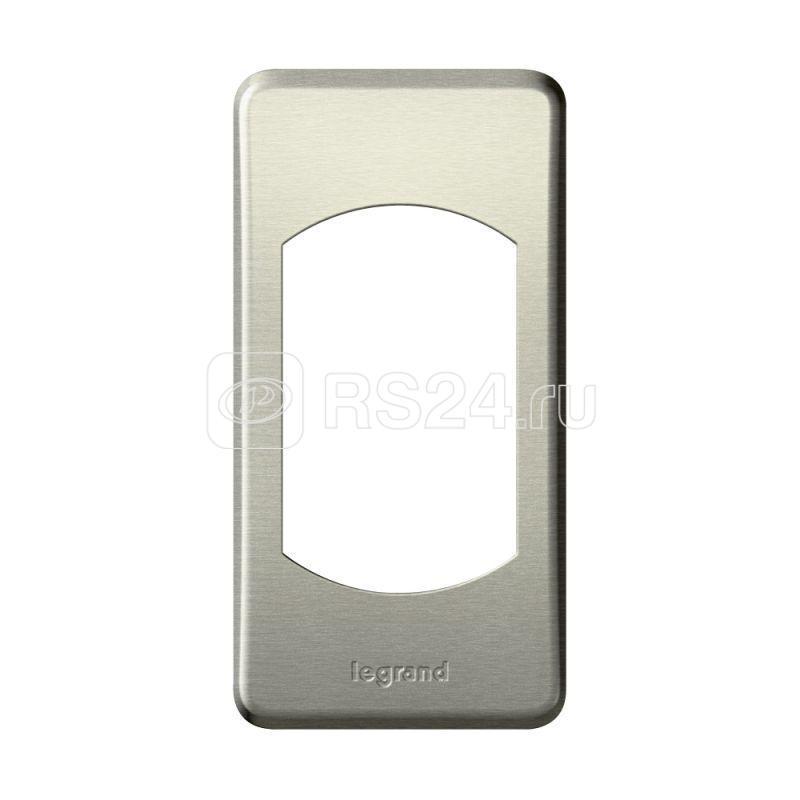 Рамка 1-м Celiane титан Leg 068900 купить в интернет-магазине RS24
