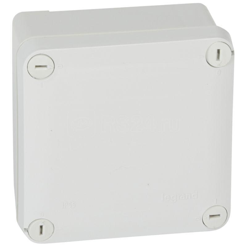 Коробка распределительная 105х105х55мм Plexo Leg 092020 купить в интернет-магазине RS24