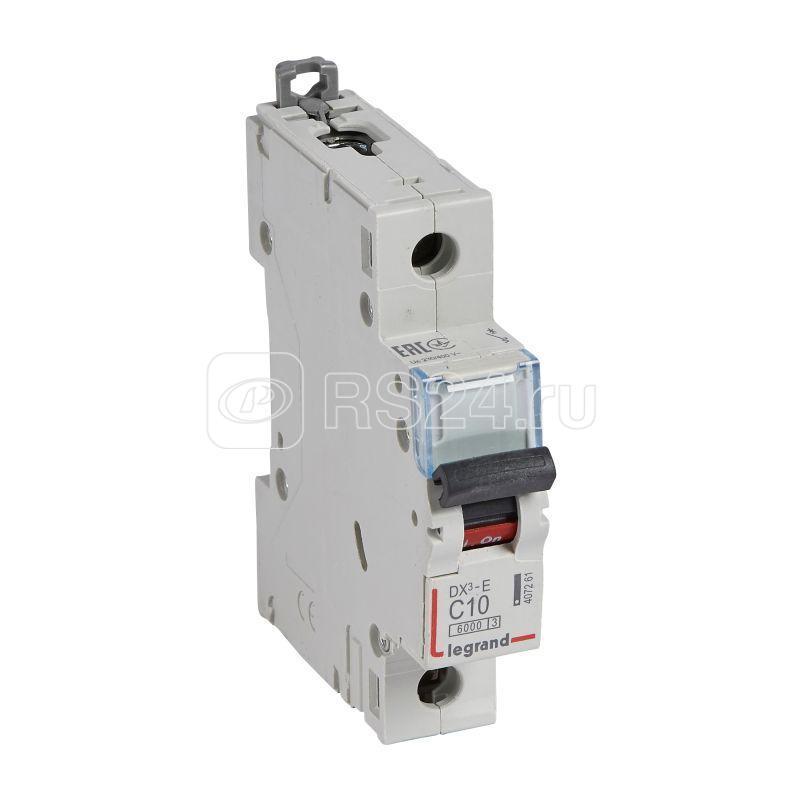 Выключатель автоматический модульный 1п C 10А 6кА DX3-E Leg 407261