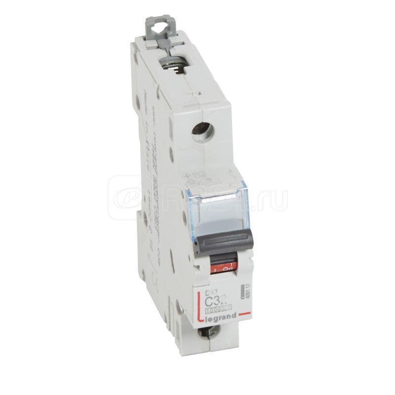 Выключатель автоматический модульный 1п C 32А 16кА DX3 10000 1мод. 230/400В Leg 409117 купить в интернет-магазине RS24