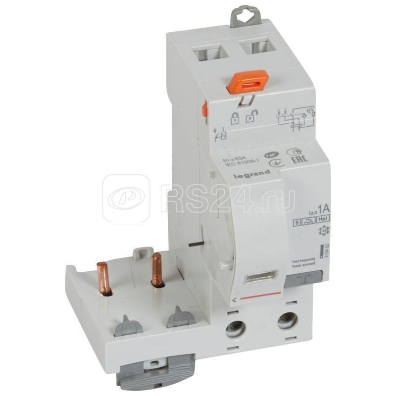 Блок диф. защиты 2п 63А Hpi-S 1000мА DX3 Leg 410462 купить в интернет-магазине RS24