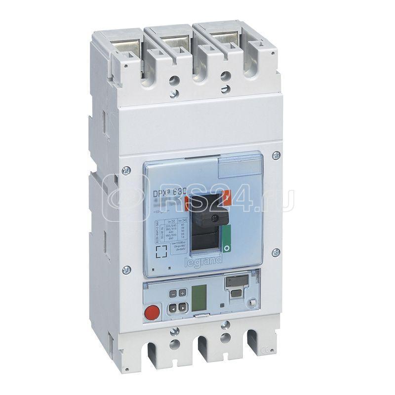 Выключатель автоматический 3п 250А 36кА DPX3 630 электрон. расцеп. Sg Leg 422136 купить в интернет-магазине RS24