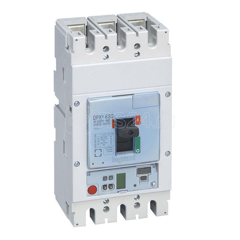 Выключатель автоматический 3п 630А 36кА DPX3 630 электрон. расцеп. Sg Leg 422140 купить в интернет-магазине RS24